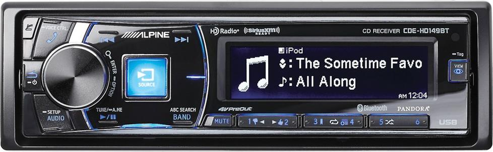 Cd Receivers Buying Guide How To Choose A Car Stereo That's Right. Alpine Cdehd149bt. Wiring. Alpine Cde 143bt Wiring Diagram Xj At Scoala.co