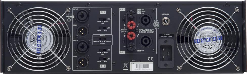 cerwin vega cv 5000 power amplifier 1100 watts rms x 2 at 8 ohms cerwin vega cv 5000 power amplifier