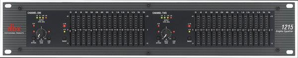 dbx 1215 dual 15-band equalizer