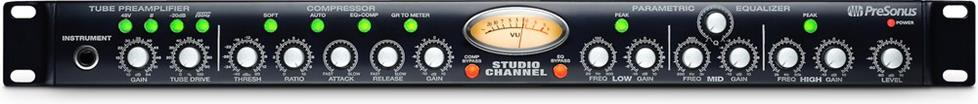 PreSonus Studio Channel preamp with compression and EQ