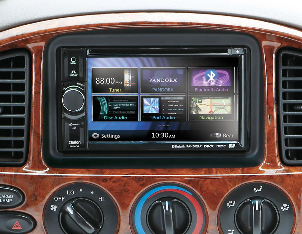 Clarion NX404 receiver installed in 2002 Tundra