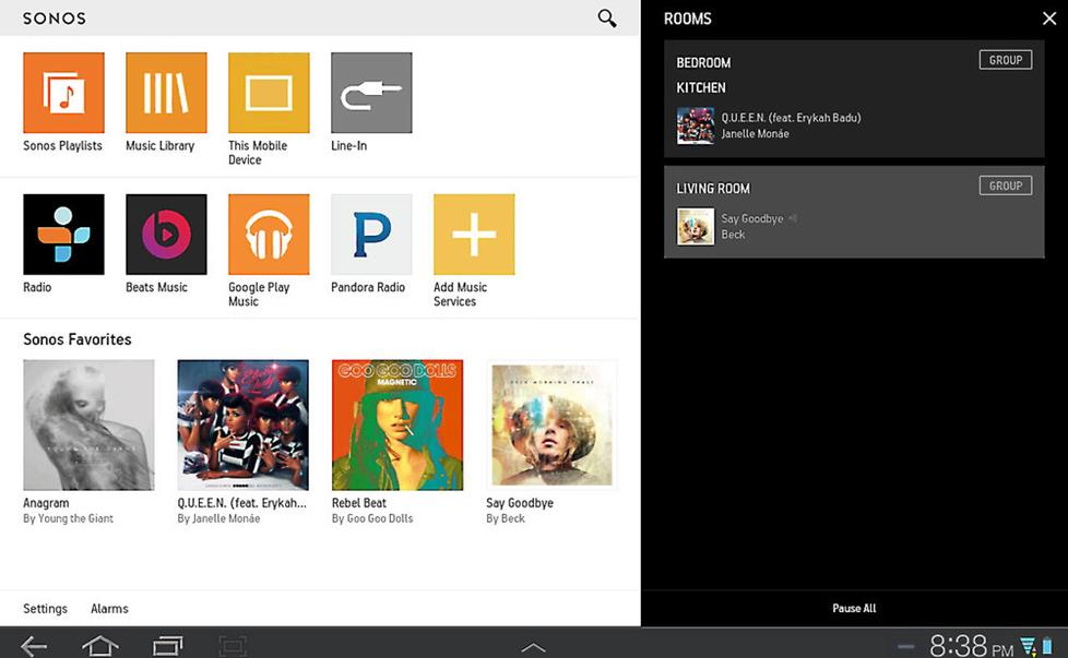 sonos how to search for artist