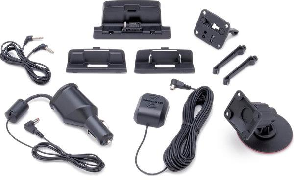 Dock and play satellite radio kit