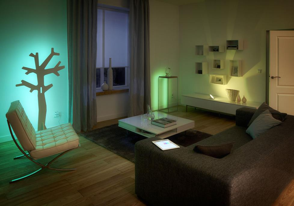 Philips Hue lights are convenient, efficient, and decorative.