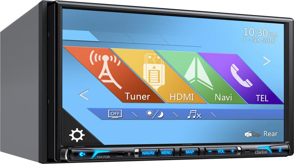 Clarion NX706 Navigation Receiver
