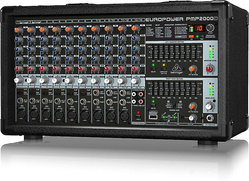 Behringer PMP2000D powered mixer
