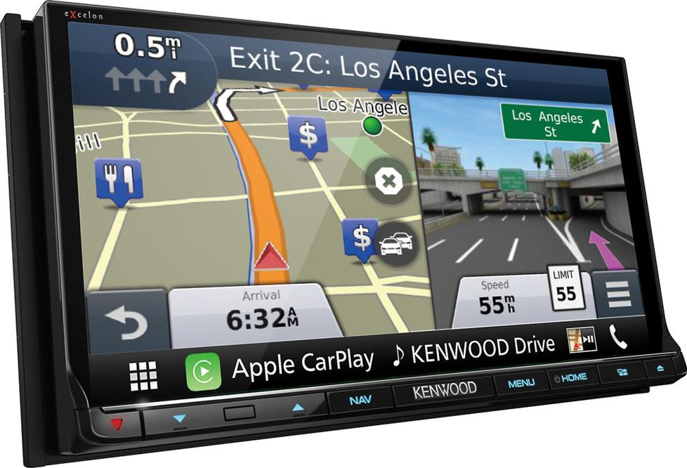 Kenwood DNX893S navigation receiver