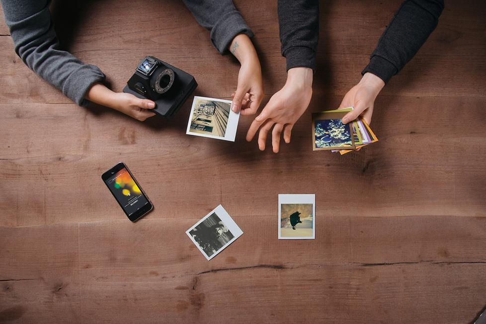 Impossible instant cameras
