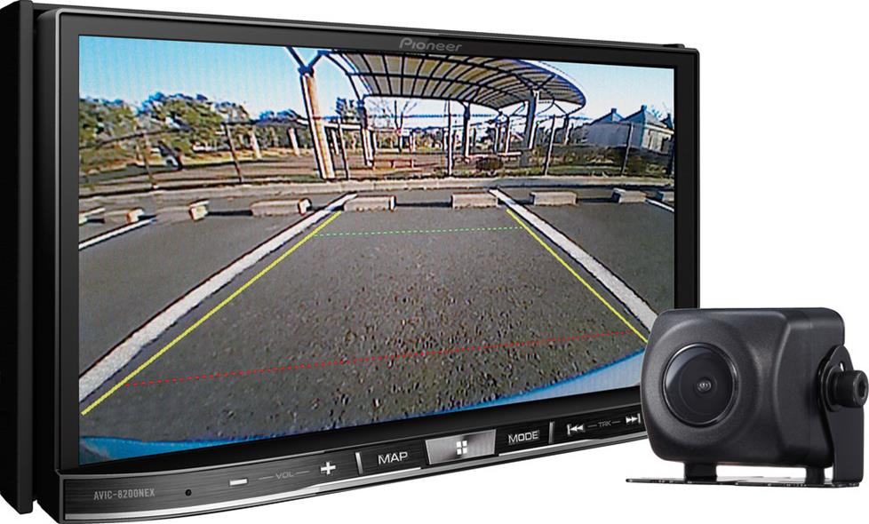 Pioneer AVIC-8201NEX navigation receiver package with backup camera