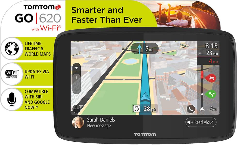 TomTom GO 620 Portable navigator with 6