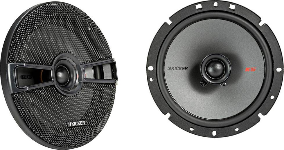 Kicker KS series car audio speakers