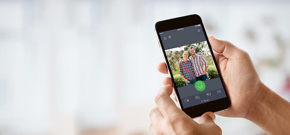 Wisenet SmartCam D1 Smart video doorbell with two-way talk