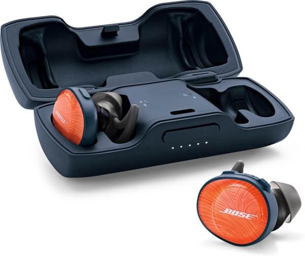 Bose SoundSport Free in case