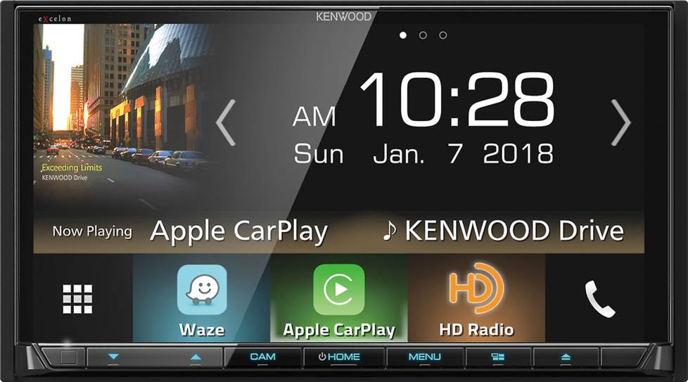 Kenwood Excelon DDX8905S DVD receiver