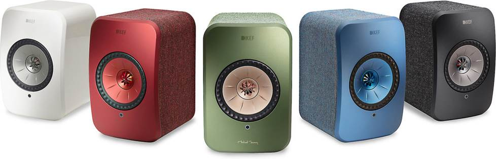 KEF LSX color options