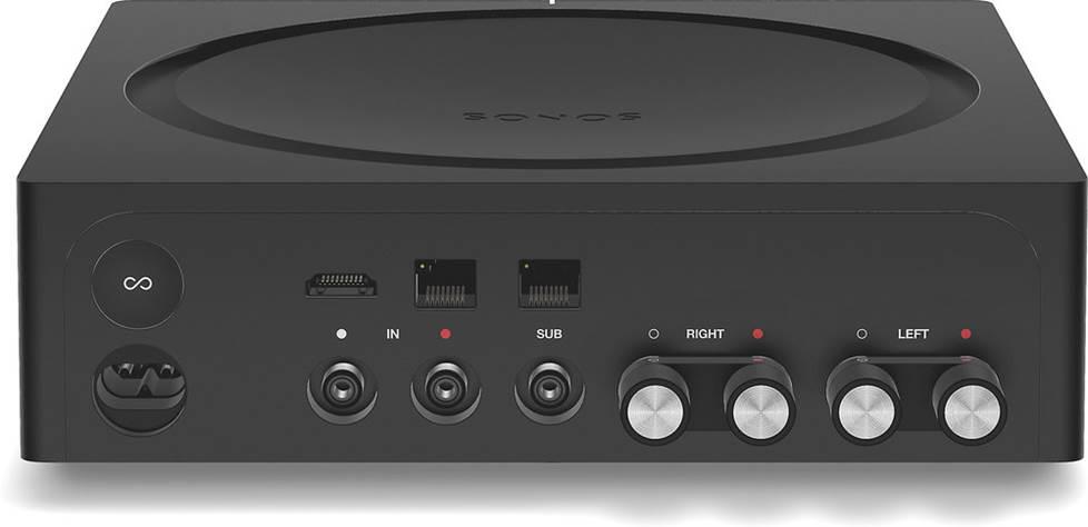 Back of Sonos Amp