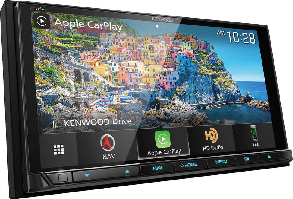 Kenwood Excelon DNX996XR navigation receiver