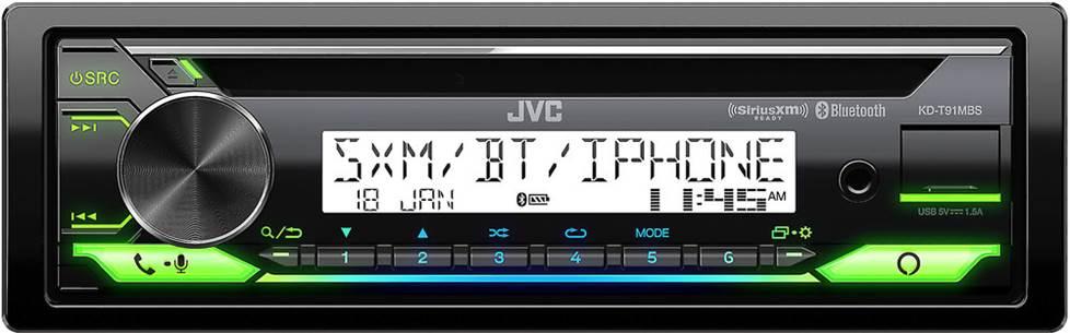 JVC KD-T91MBS receiver