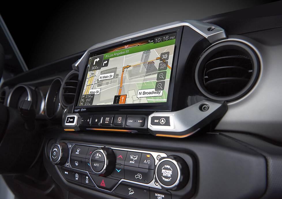 Alpine X409-WRA-JL multimedia navigation receiver
