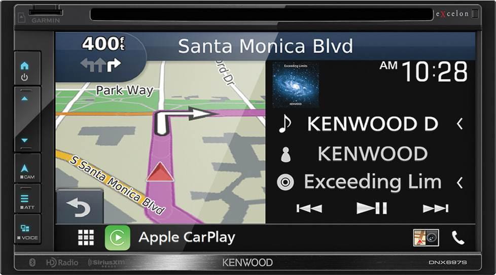 Kenwood Excelon DNX697S navigation receiver