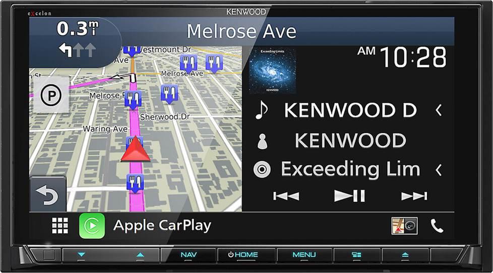 Kenwood Excelon DNX997XR navigation receiver