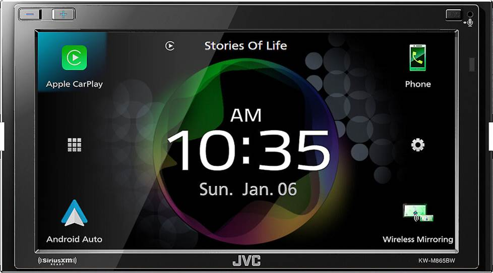 JVC KW-M865BW Digital Multimedia Receiver