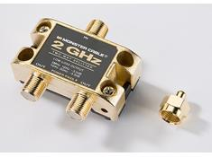 Monster Cable 2-way RF splitter