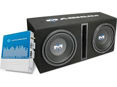 MTX Magnum Audio MB210SP Magna Bass Package