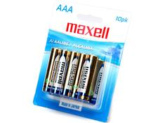 "Maxell ""AAA"" Alkaline Battery"