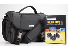 Nikon Digital SLR Starter Kit with Bag & Instructional DVDs