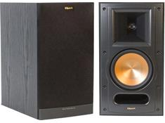 on a pair of Klipsch Reference RB-61 II bookshelf speakers, now $329.99