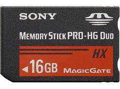 Sony Memory Stick® PRO-HG Duo HX Media
