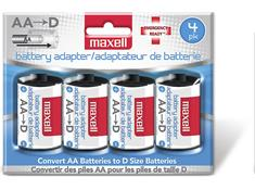 Maxell MBS-D Adapter 4-pack