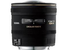Sigma Photo 4.5mm f/2.8 Circular Fisheye Lens