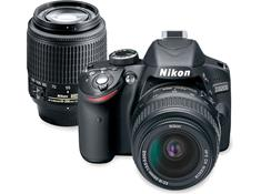 Nikon D3200 Kit with Standard Zoom and Telephoto Zoom Lenses