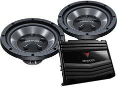Kenwood P-W1020 150-Watt Bass Package