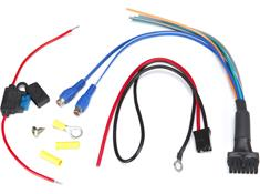 powered sub wiring harnesses at crutchfield com sas bazooka rsa hp awk amp wiring kit