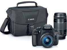 Canon EOS Rebel T5 Two Zoom Lens Bundle