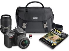 Nikon D5300 Two Zoom Lens Bundle