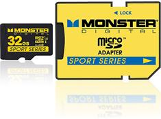 Monster Digital microSDHC Memory Card