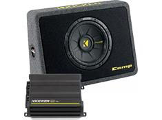 Kicker 300-Watt Bass Package