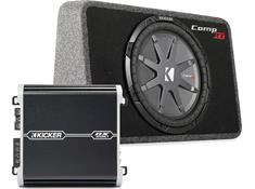 Kicker 500-Watt Bass Package