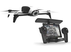 Parrot Bebop 2 Drone and Skycontroller Black Bundle