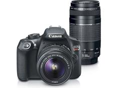 Canon EOS Rebel T6 Two Zoom Lens Kit