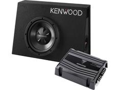 Kenwood P-W100B 150-Watt Bass Package