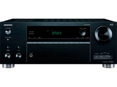 on an Onkyo TX-RZ610 7.2-channel home theater receiver