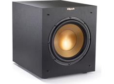 on a Klipsch Reference R-10SWi wireless powered subwoofer, now $249.99