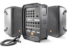 8-channel mixer and 2 speakers for $599