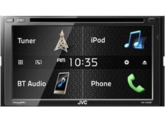 on JVC's touchscreen  DVD receivers