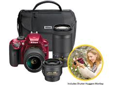 Pre-order this awesome Nikon 3-lens DSLR camera kit, now just $799.95